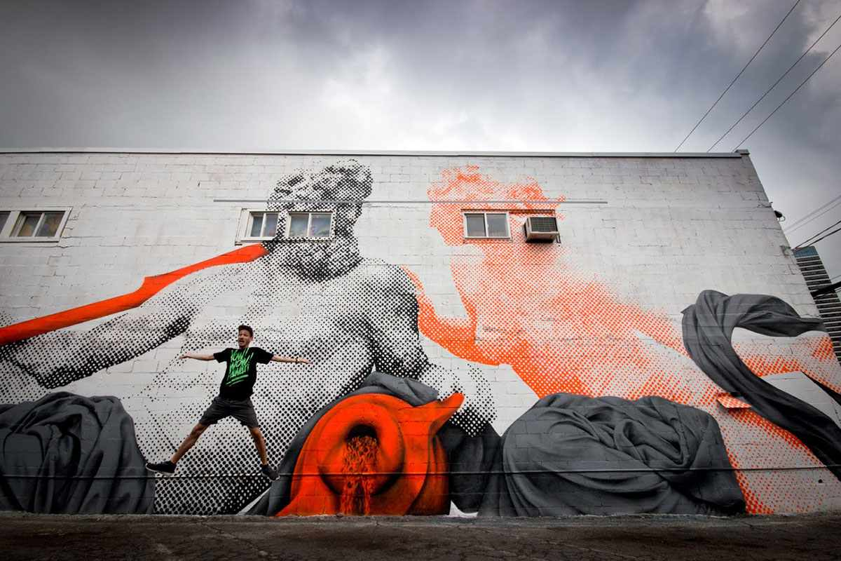 pow wow murals 2013 jeff
