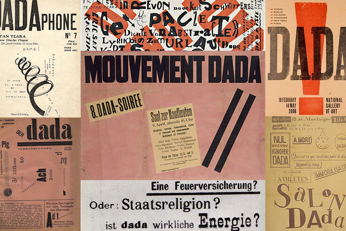 dada collage dada readymade schwitters kurt works work 1920 raoul page modern german