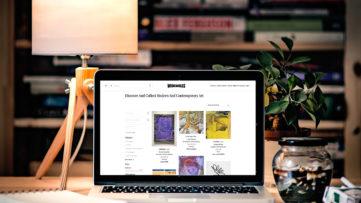 coronavirus online art world
