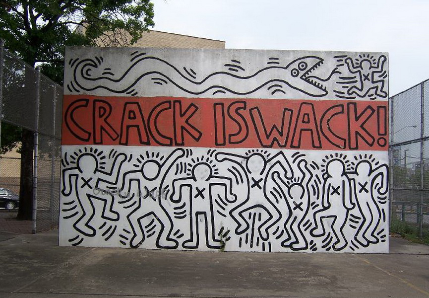 Crack is wack widewalls for Crack is wack mural