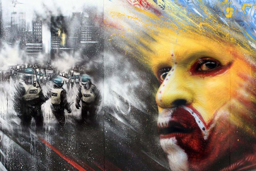 Dale Grimshaw - Portraits of War