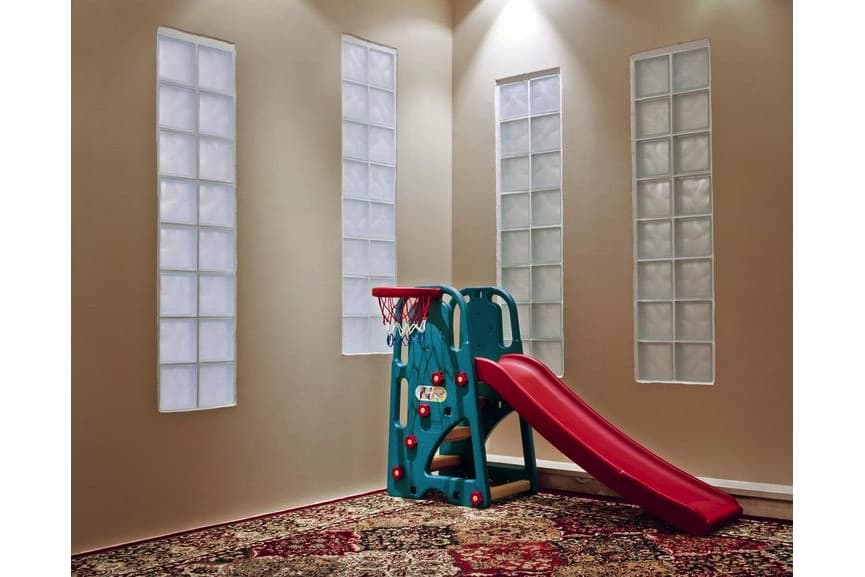 Child's bedroom in home of former Guantanamo detainee