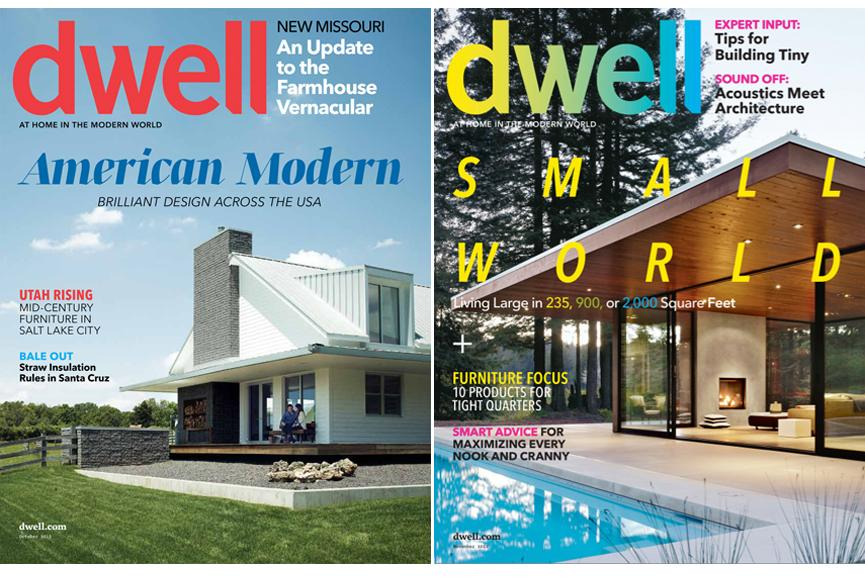 dwell covers via dwell - Design Architecture Magazine
