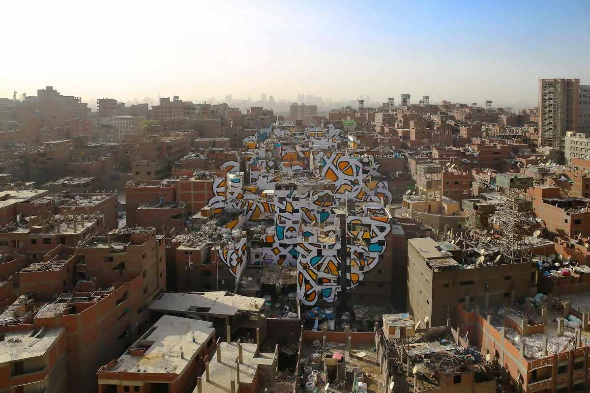 eL Seed - Perception, Cairo Egypt