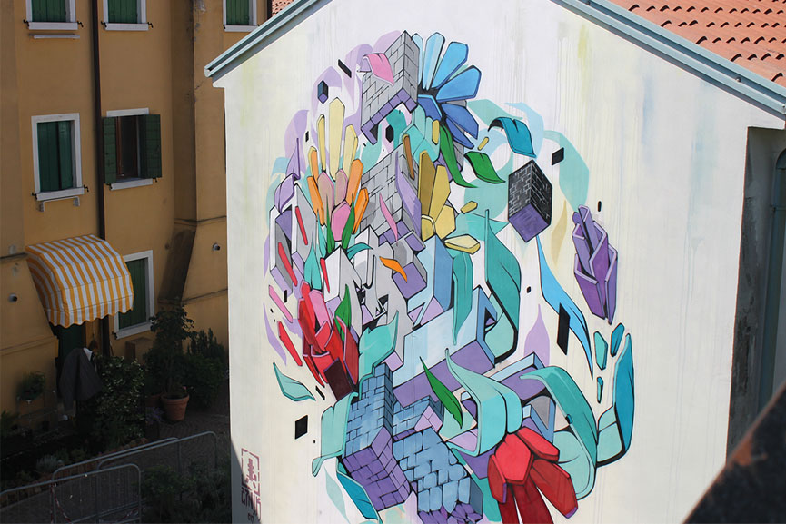 Etnik's new mural