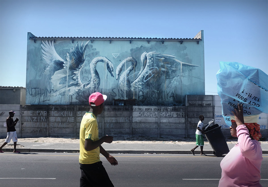 Mural in Cape Town