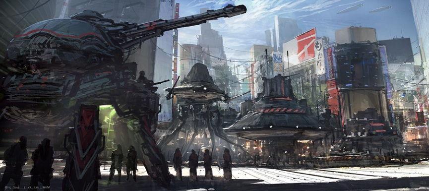 Feng Zhu, concept art