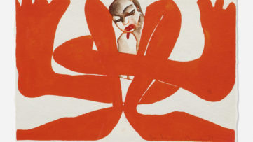 Francesco Clemente - Untitled Self Portrait