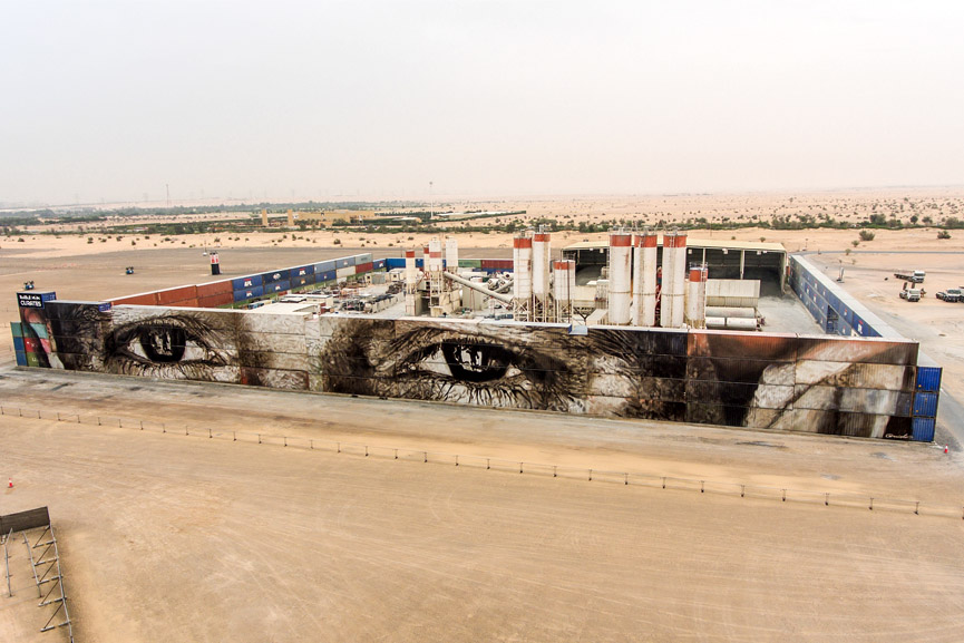 Guido van Helten latest work