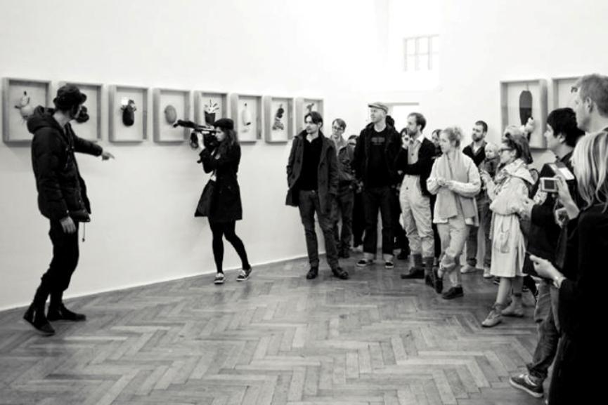 Henrik Vibskov. exhibition