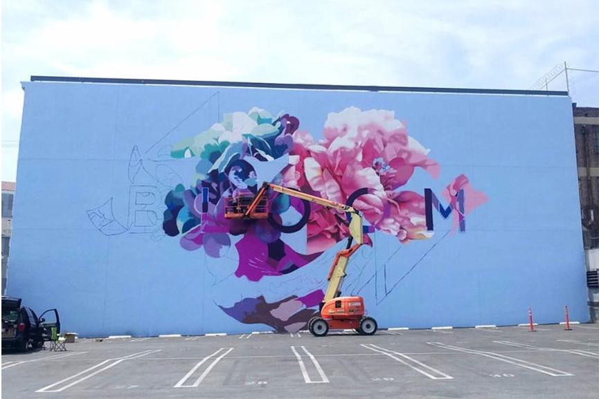 New mural by Hueman