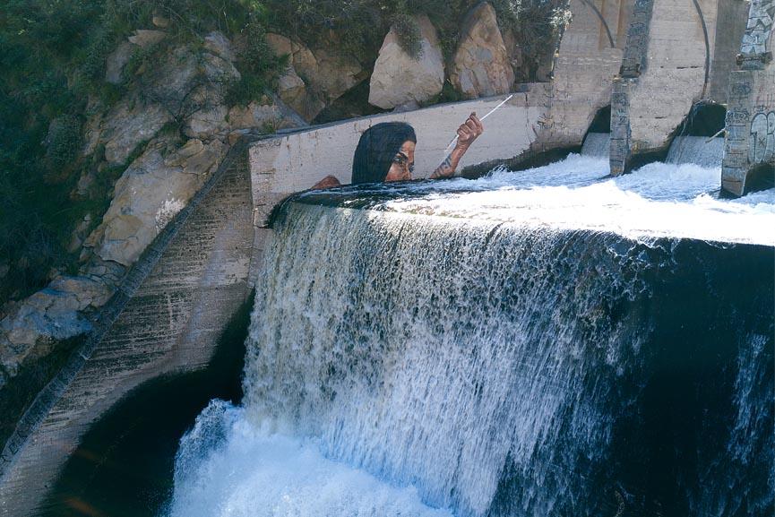 hula makau mural