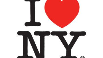 i heart ny I Love New York logo by milton glaser