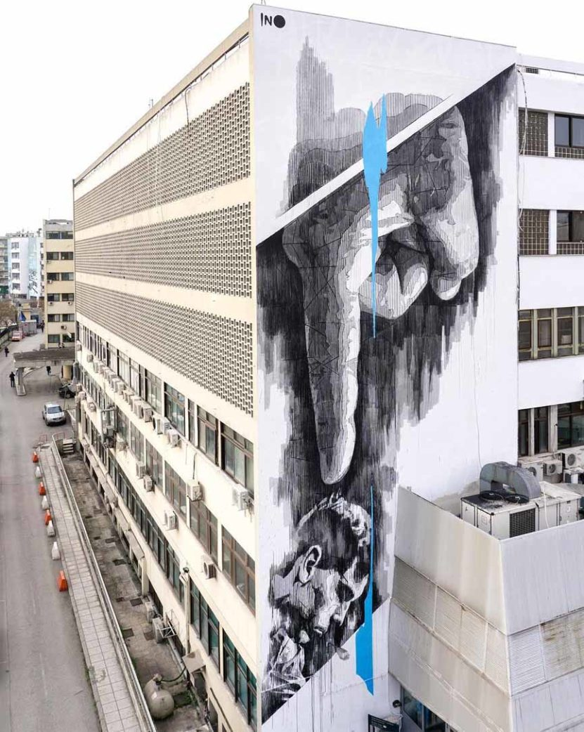 new mural by ino