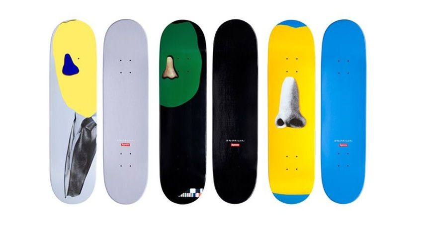 logo shop box best set red springsummer 2015 Supreme Skateboard