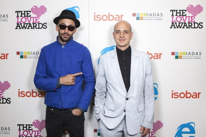 Steve Lazarides with JR