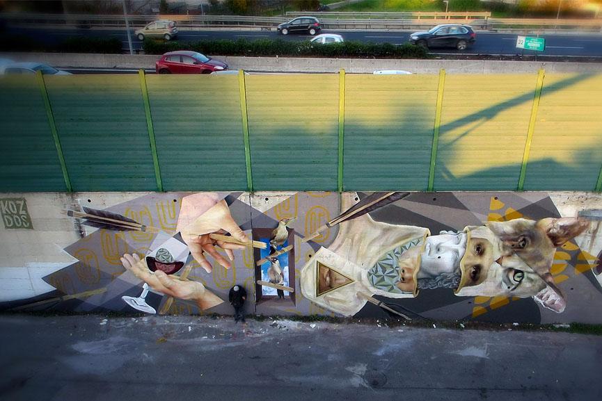 El sosiego de un futuro en deuda mural