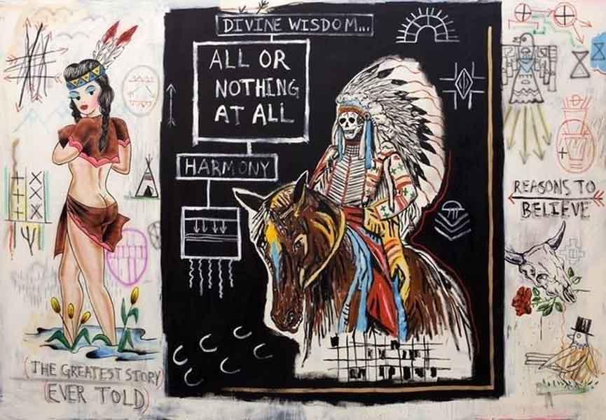 Wes Lang, artwork