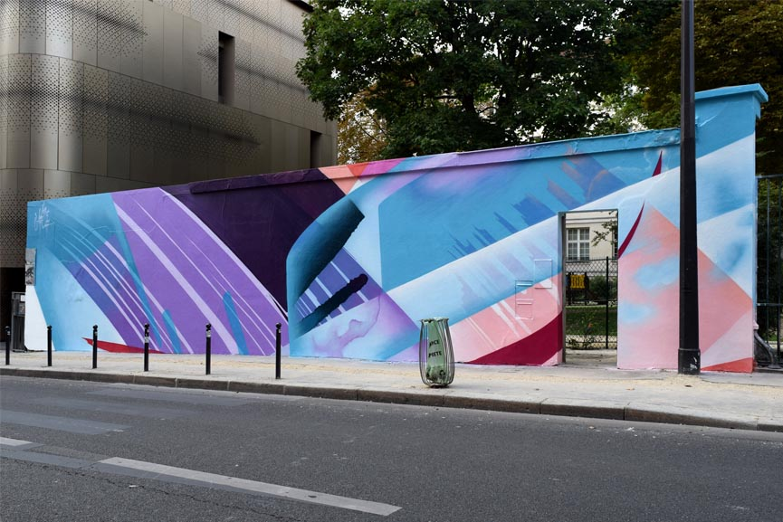 MadC mural in Paris