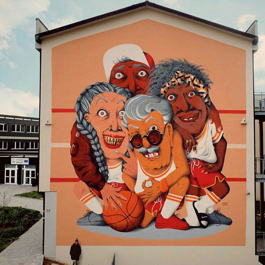new mural by Marina Capdevila