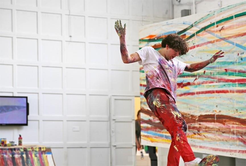 Matt Reilly's Skateboard Art