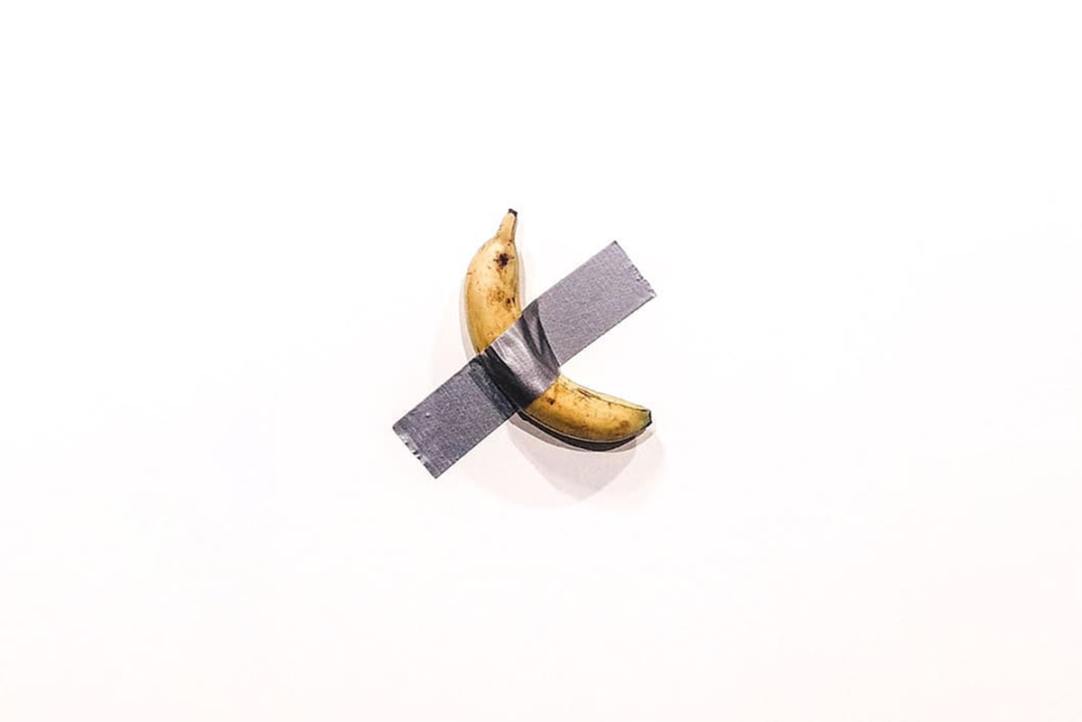 maurizio cattelan banana, among other fairs news