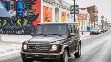 mercedes benz murals detroit