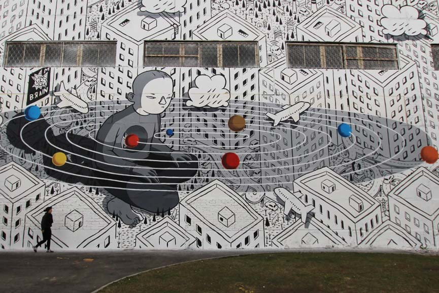 Millo for street art museum