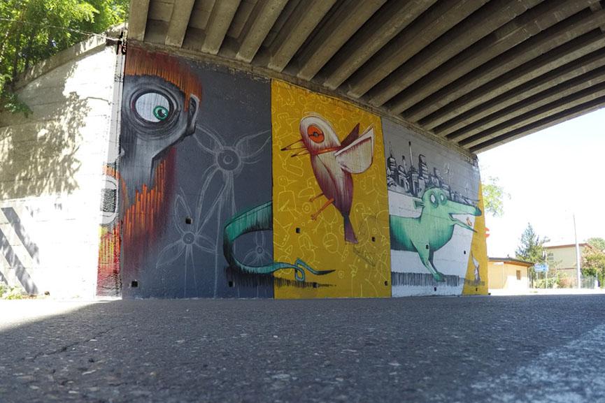 MrFijodor new work in Modena