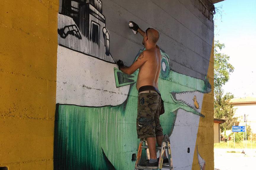 New mural by MrFijodor