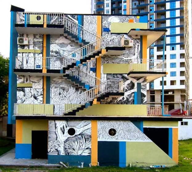 mural by Kamil Kuzko