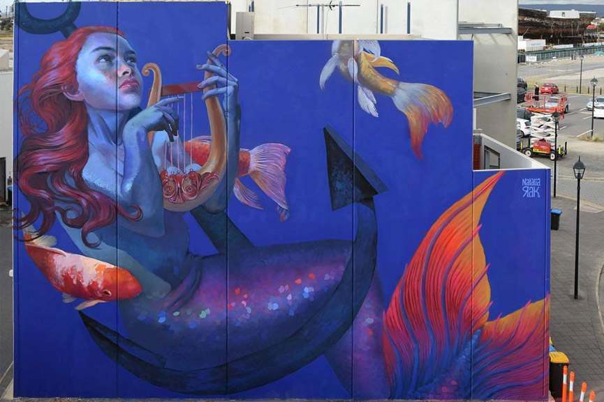 Natalia Rak for Wonderwalls festival