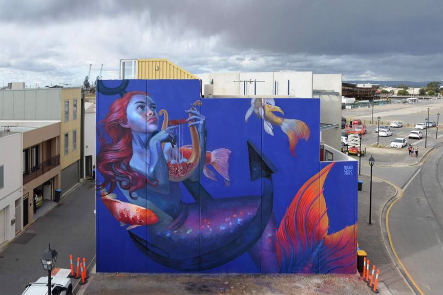 New mural by Natalia Rak