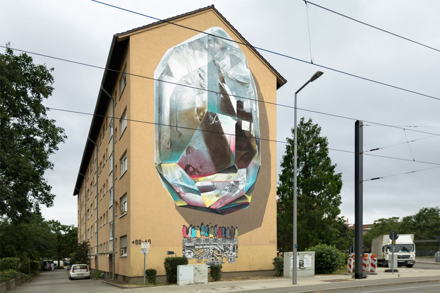 New mural by Nevecrew