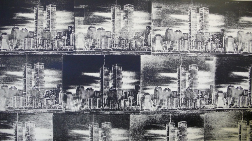 "Widewalls Collections - Nick Walker ""Towers"""