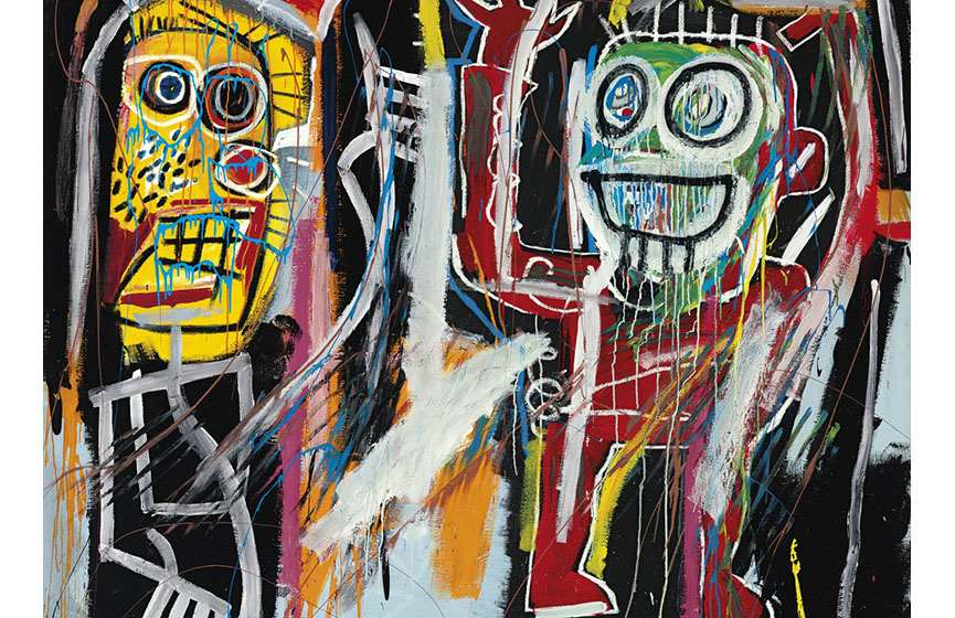 Jean-Michel Basquiat - Dustheads
