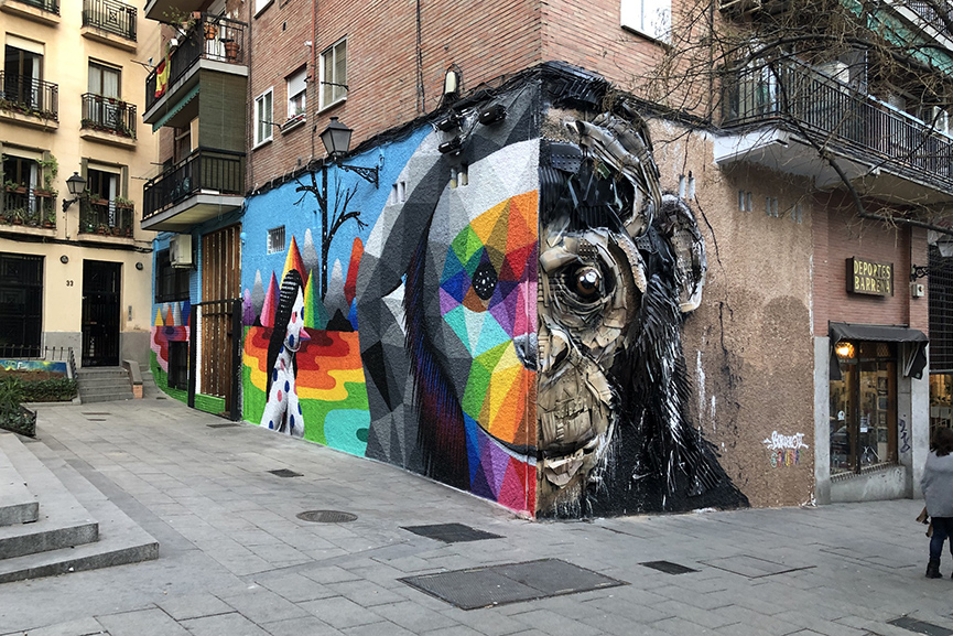 okuda bordalo II madrid