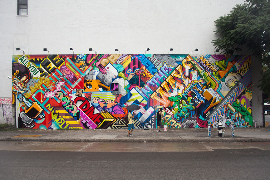 the graffiti exposure in wynnum essay The impact of advertising on graffiti the main agenda of a graffiti artist is exposure by means of guerrilla tactics a custom essay sample on.
