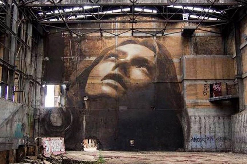 new melbourne mural by rone