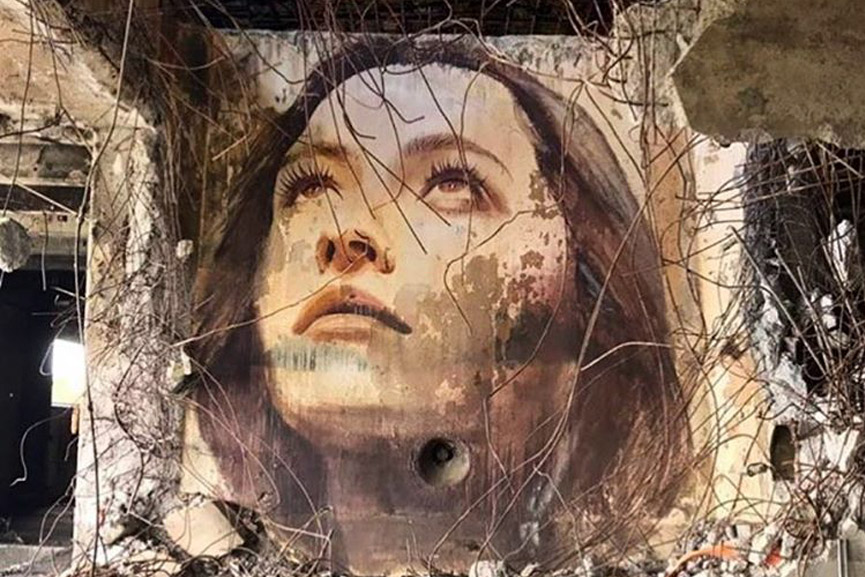 new work by rone