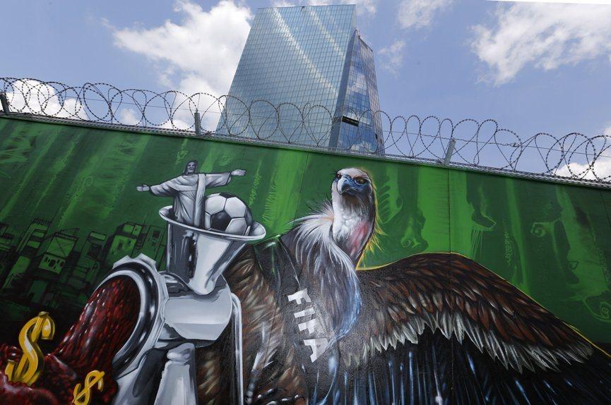 The E.C.B.'s Murals