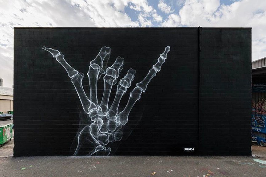 shok1 mural in honolulu