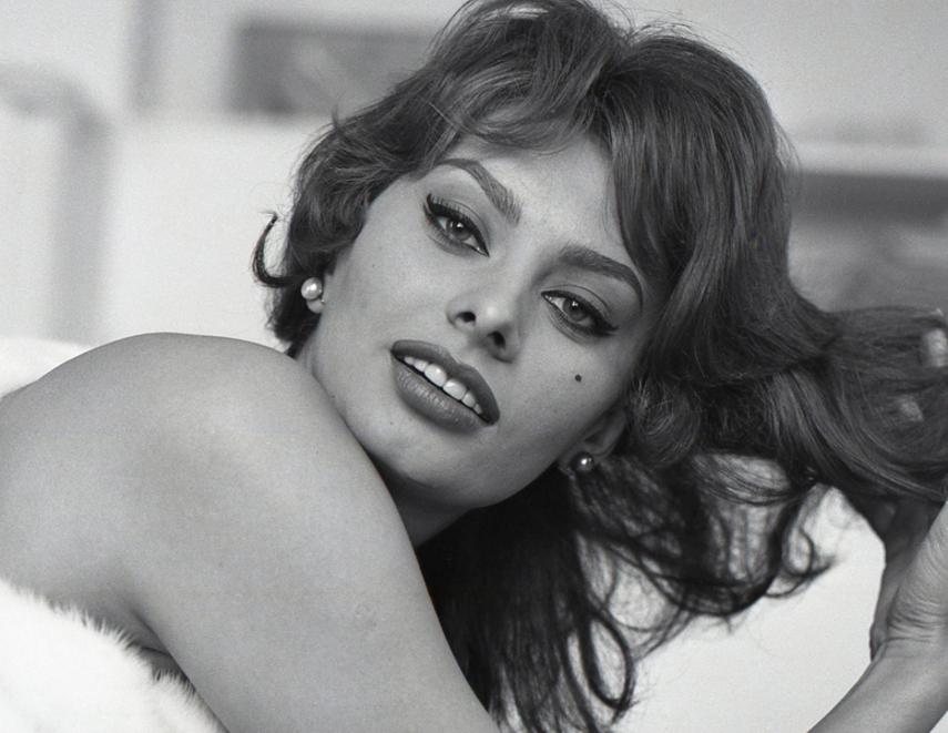 Tony Vaccaro - Sophia Loren