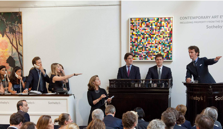 Sotheby`s auction