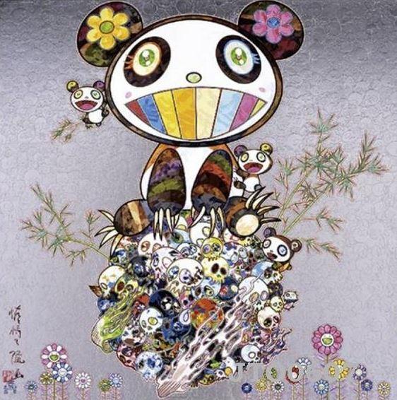 Takashi Murakami-Panda & Panda Cubs-2016