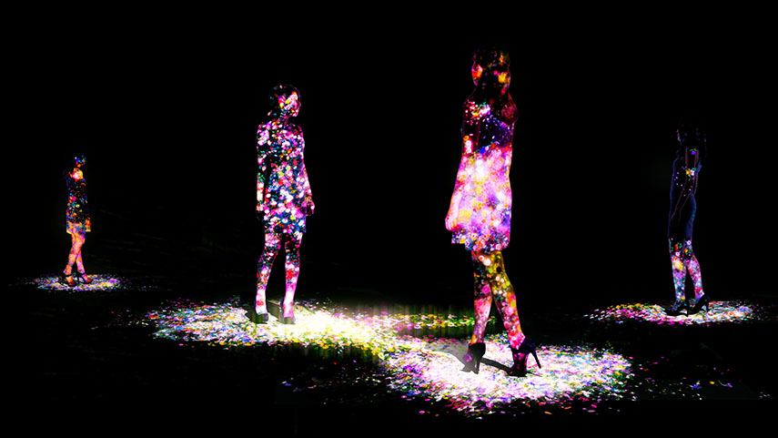 event privacy policy on tokyo based teamlab and their 2016 installations crystal future dmm planets and black light