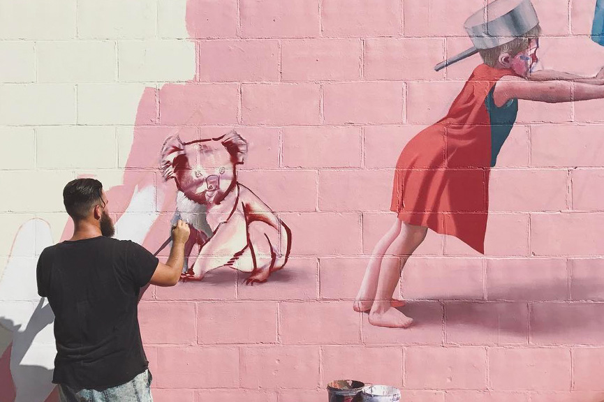 Telmo Miel in Port Adelaide