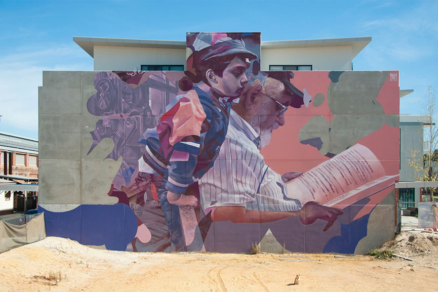 Telmo Miel new work in Perth