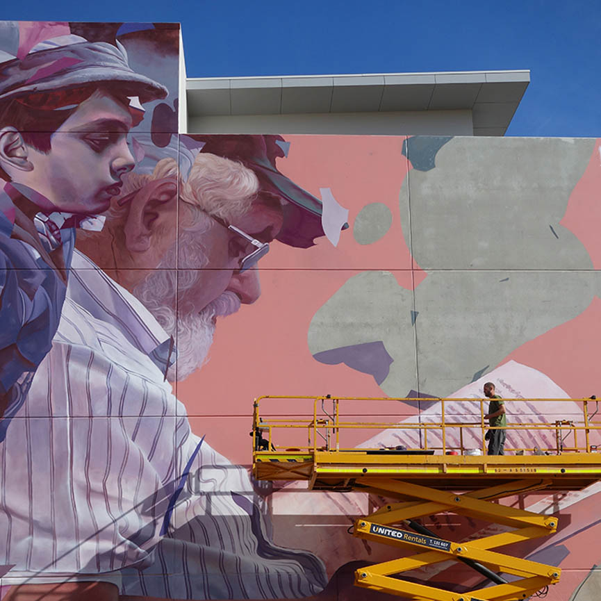 Latest wall by Telmo Miel