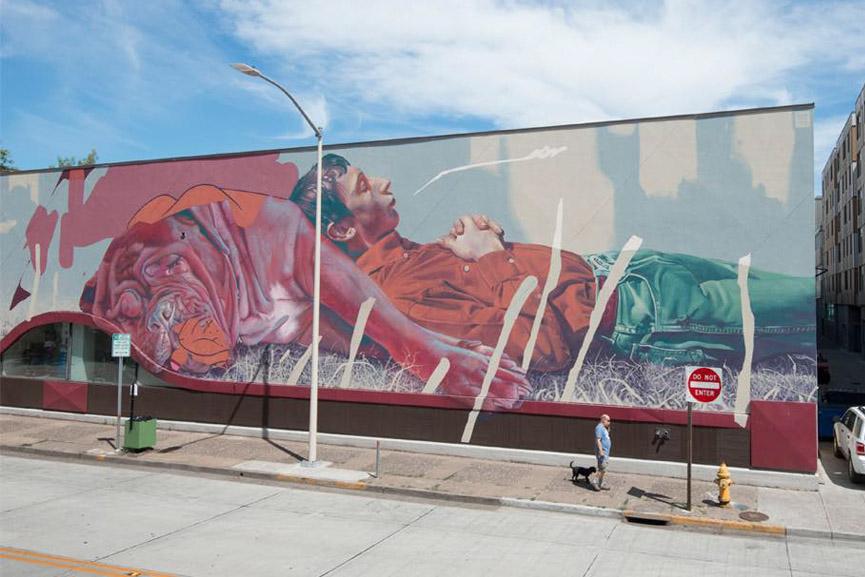 New mural by Telmo Miel